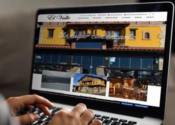Web de Posada El Valle en Suances - Publicidad en Cantabria