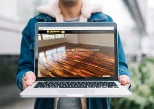 Web de Acuchillados y Barnizados Miguel Rodriguez - Publicidad en Cantabria